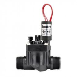 """Elektroventil HUNTER PGV-101mm-B 1 """"- hranatý - vnější závit - s regulací průtoku - 9V"""