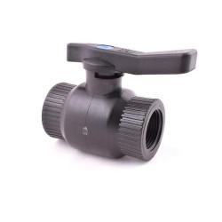 """Kulový ventil FF 1/2"""" - plast"""