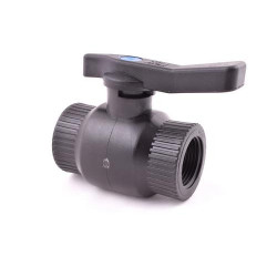 """Kulový ventil FF 3/4"""" - plast"""